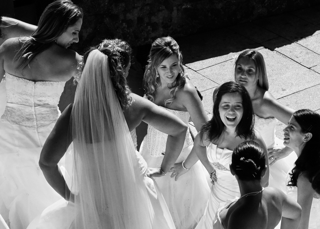Engaged Bridesmaids