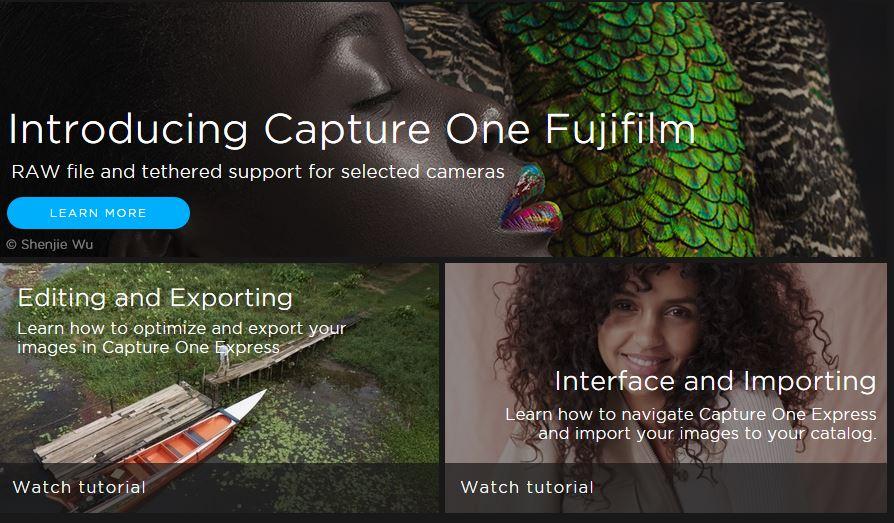 Capture One Express For Fujifilm A Basic Guide Adam Bonn Fotografia